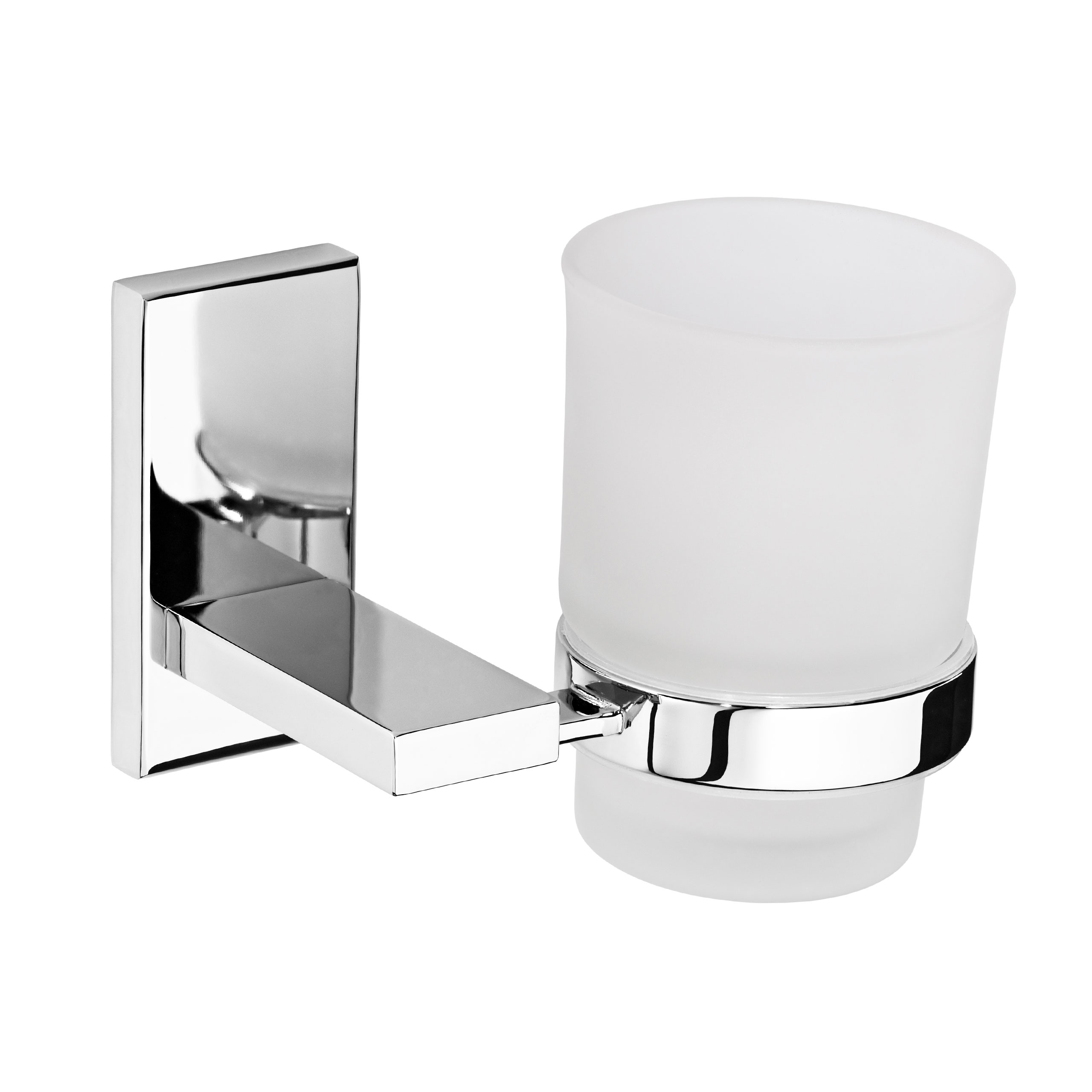 Tumbler Toothbrush Holder Glass Wall Mounted Classic Bathroom Accessory Ebay