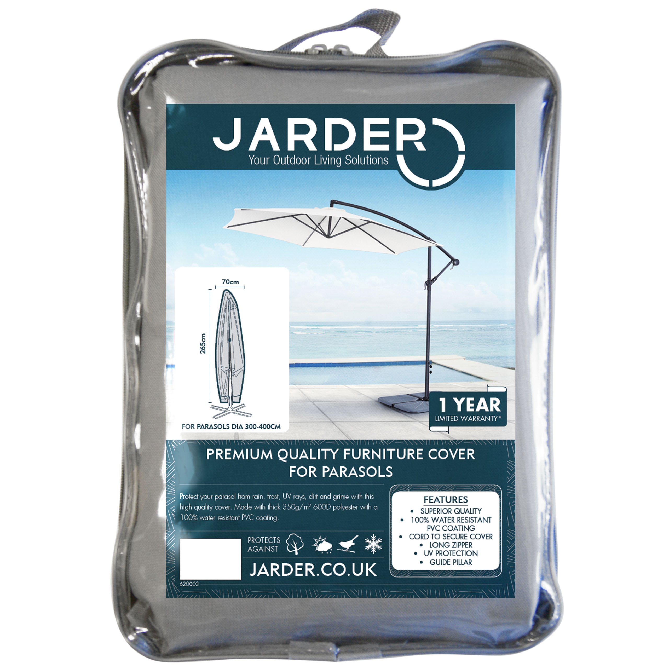 jarder cantilever parasol cover