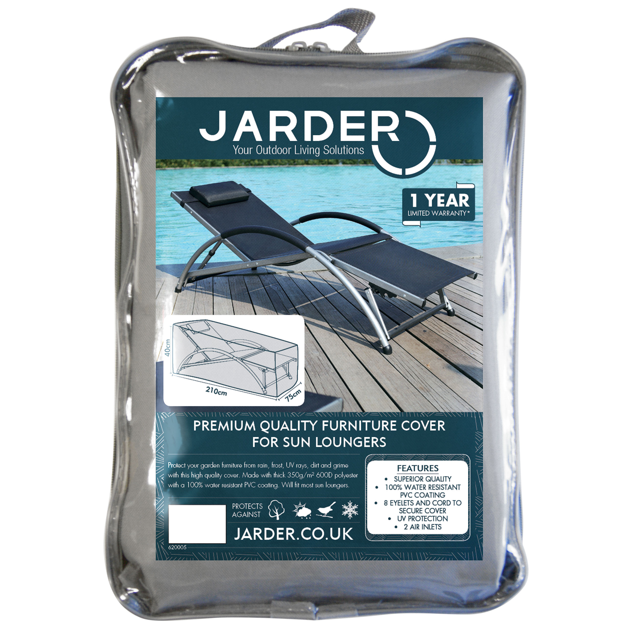jarder sun lounger cover