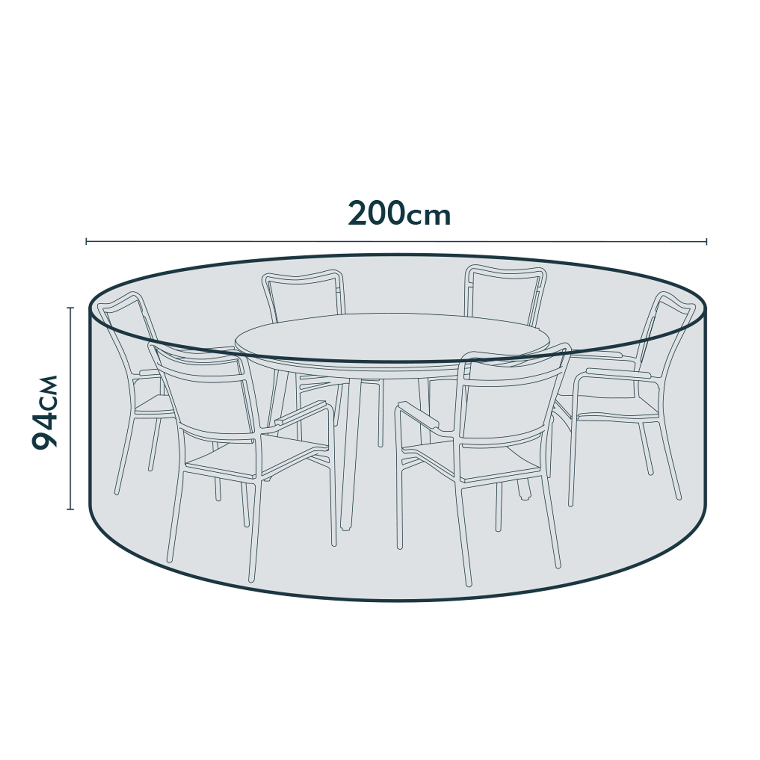 jarder large round table cover dimensions