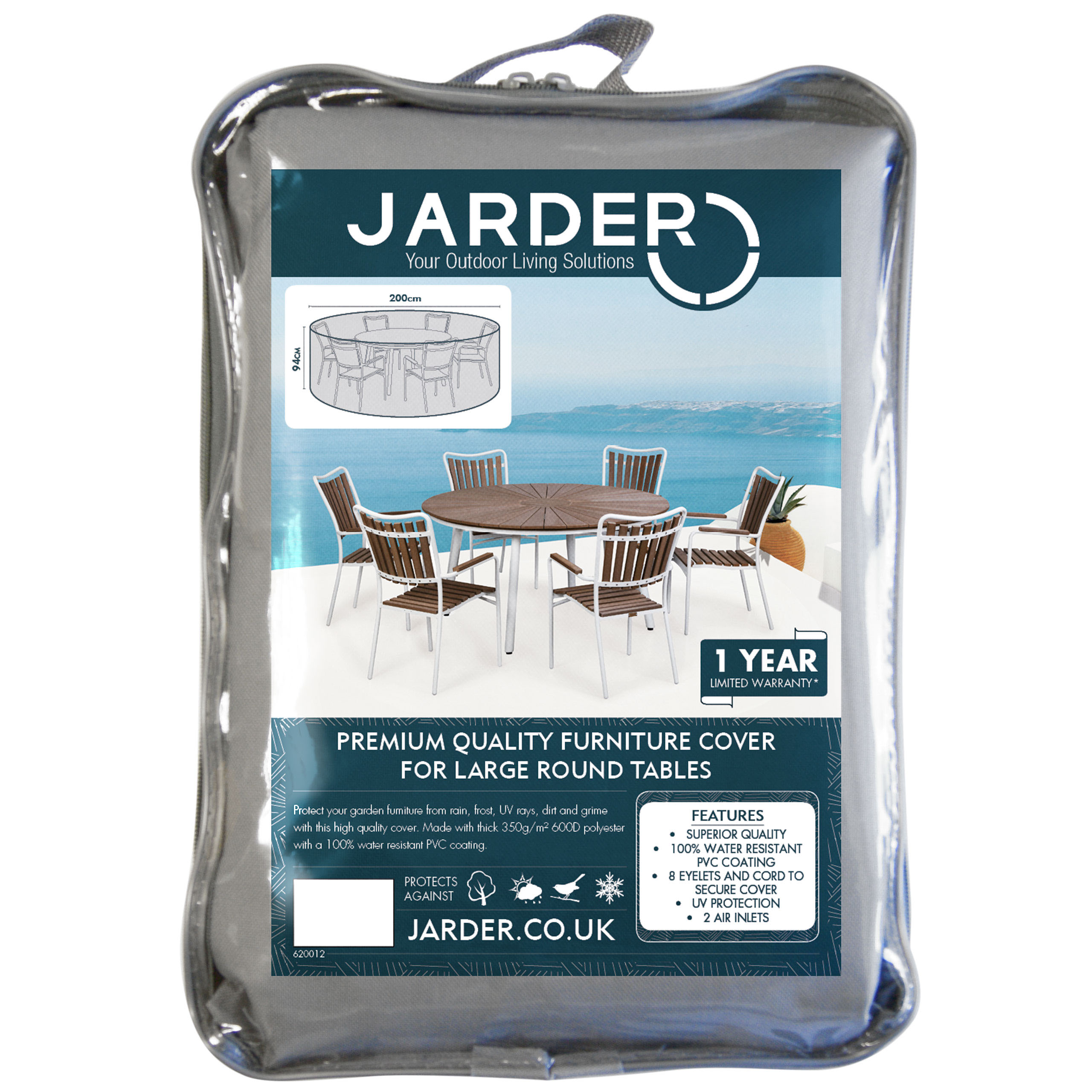jarder large round table cover