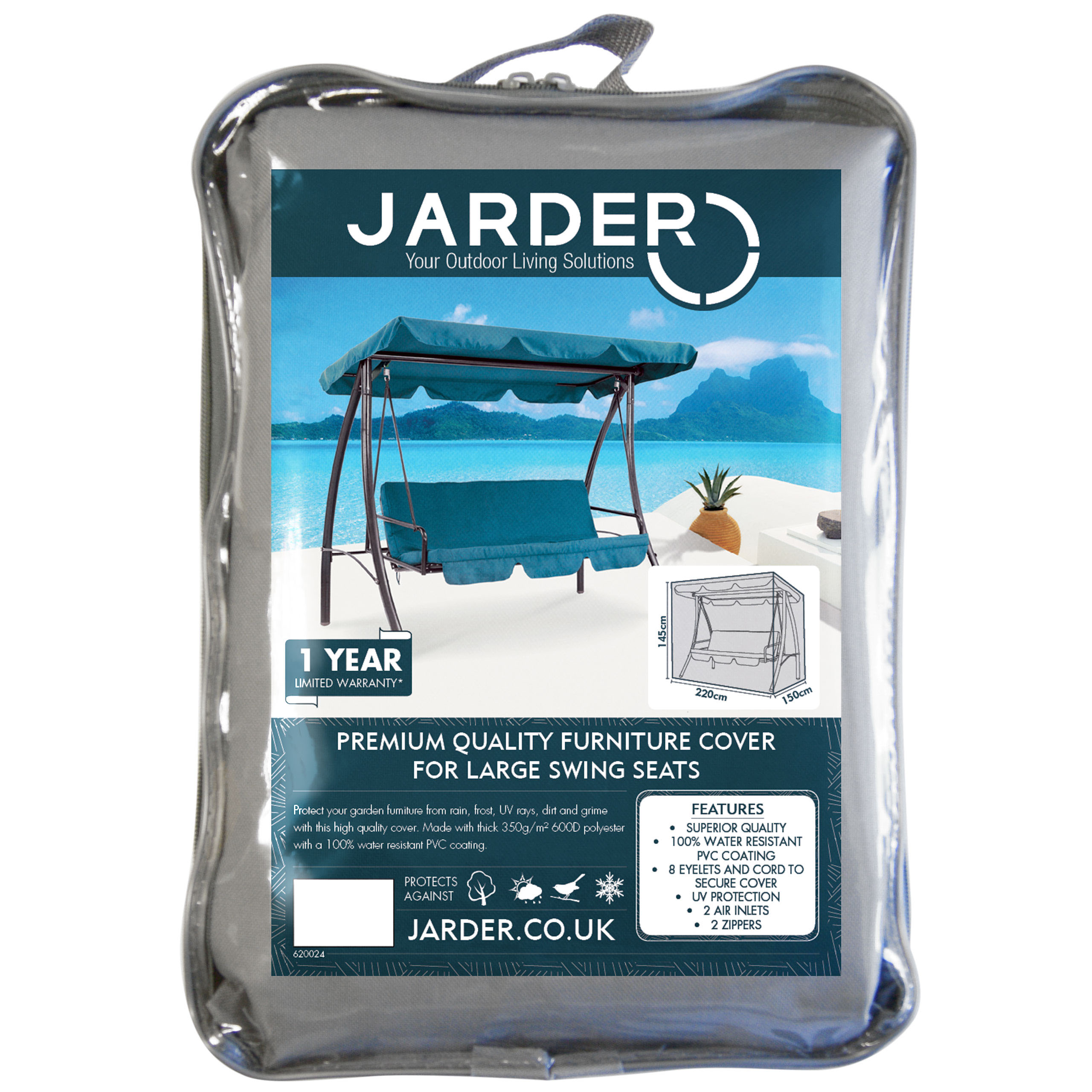 jarder swing seat cover