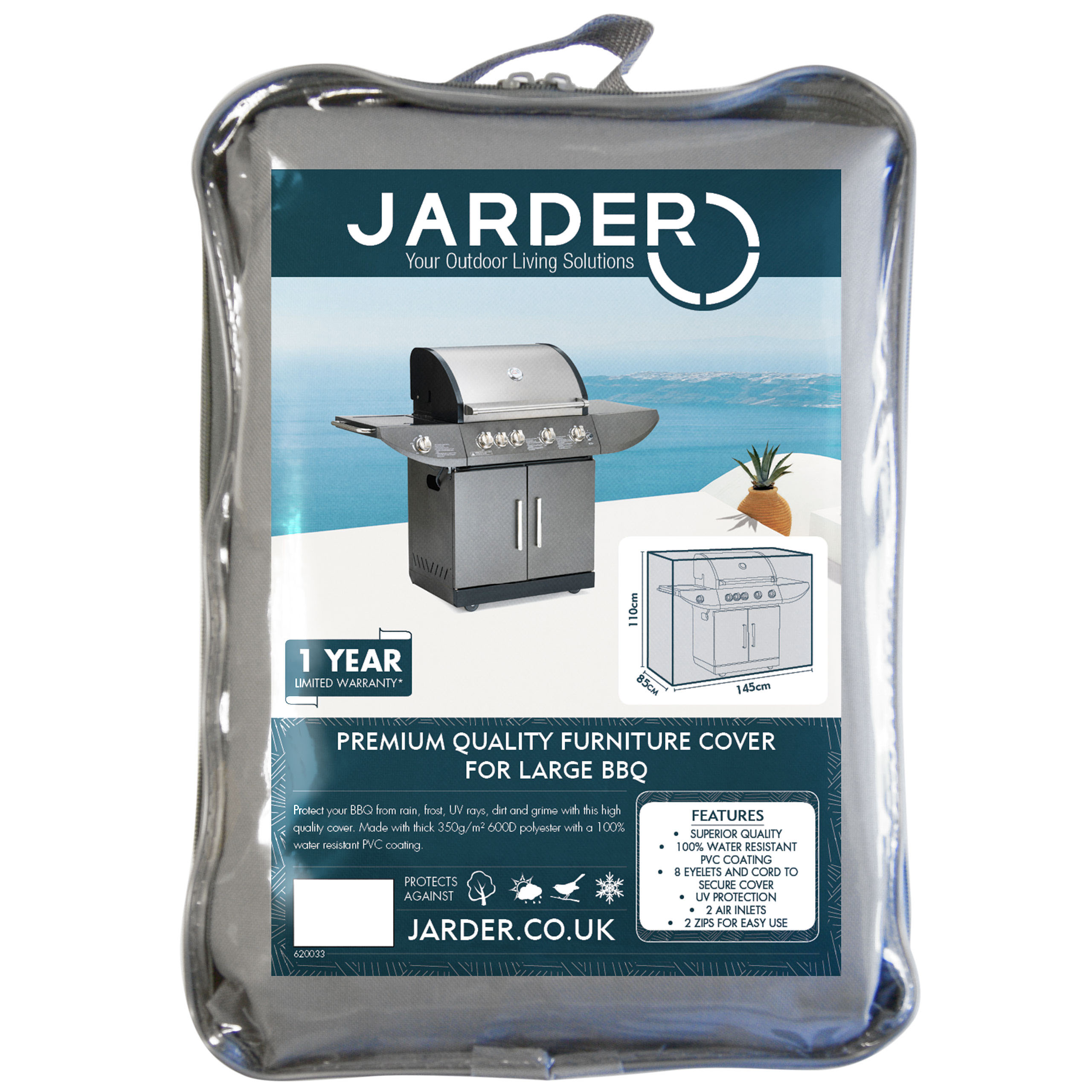 jarder large BBQ cover