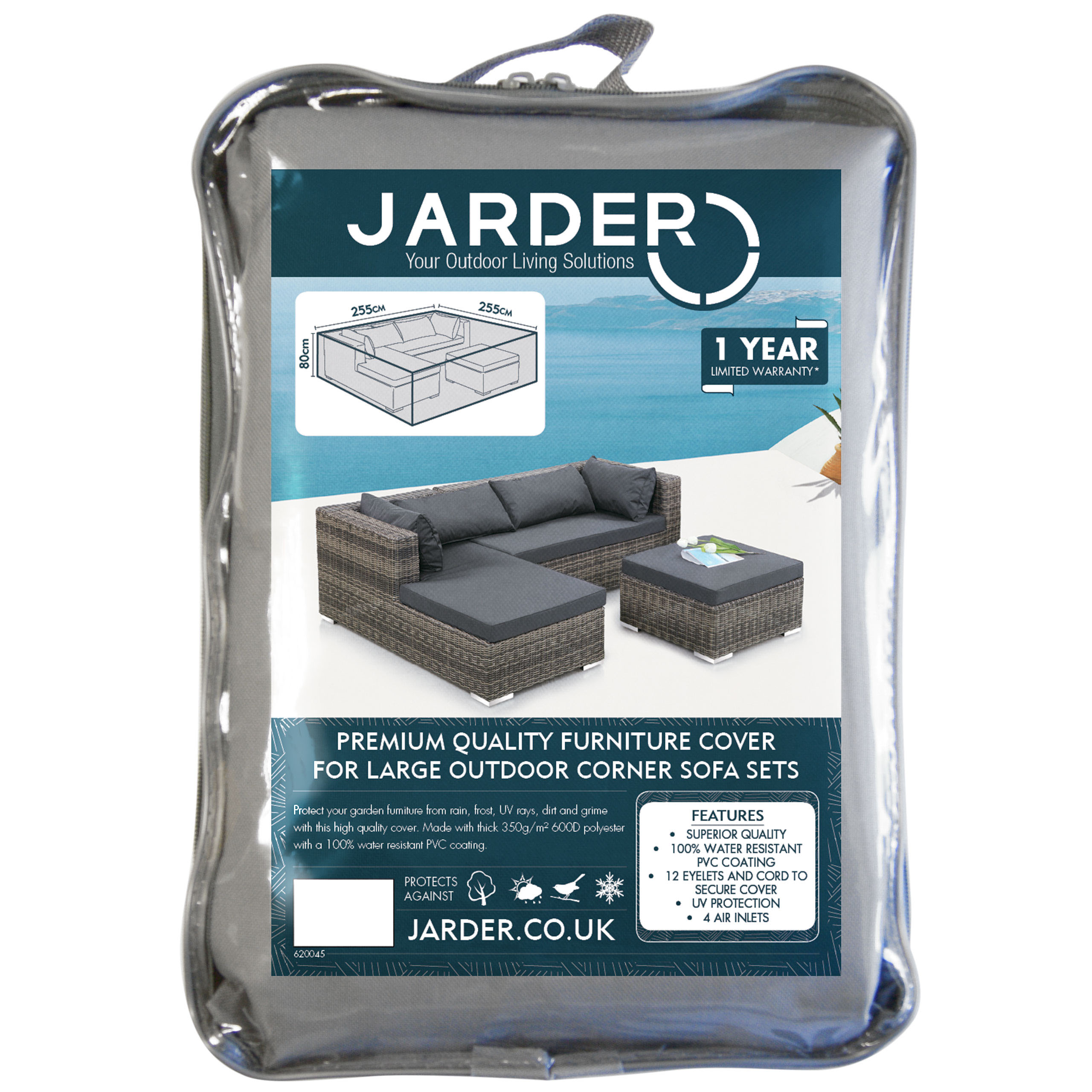 jarder large outdoor corner sofa set cover