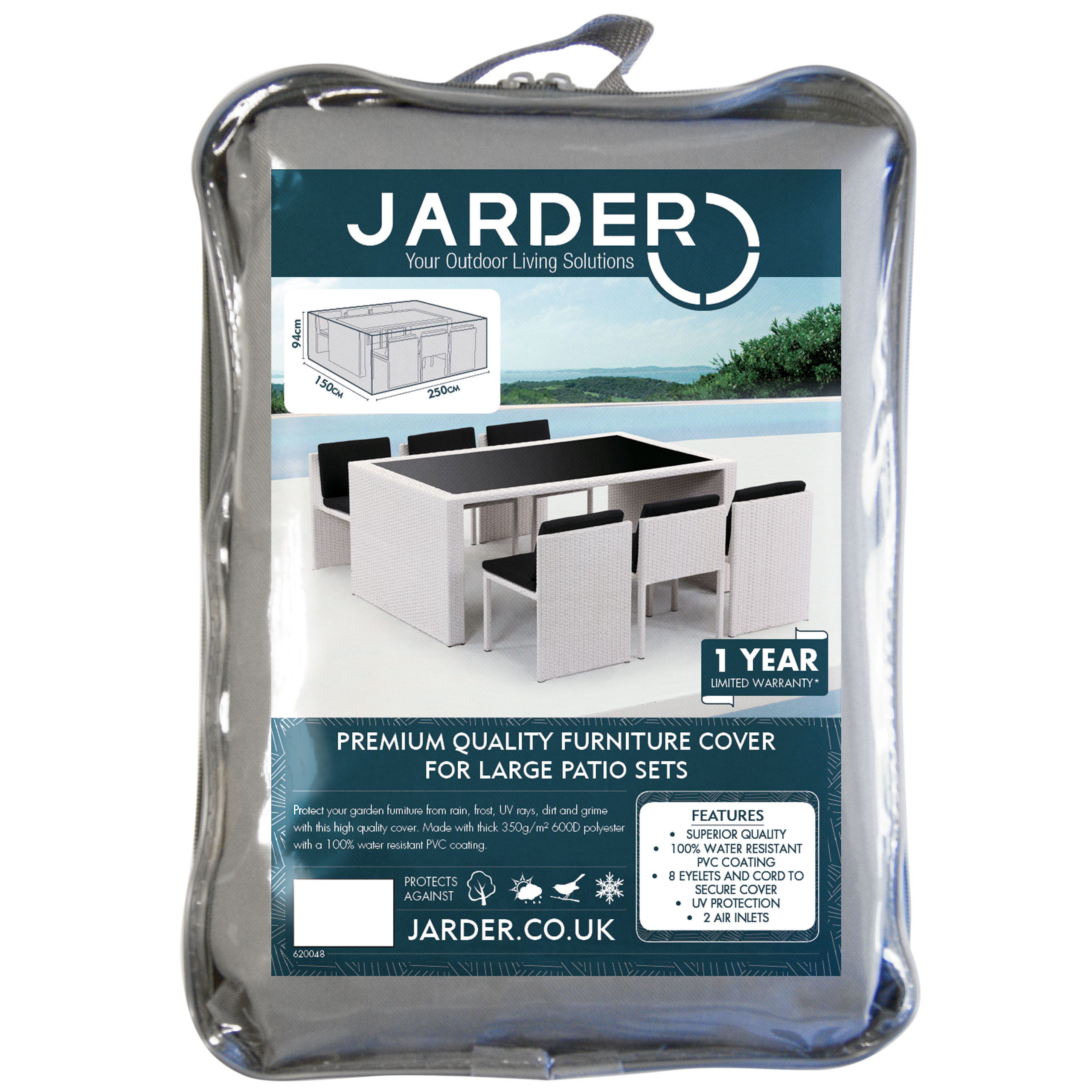 jarder large patio set cover