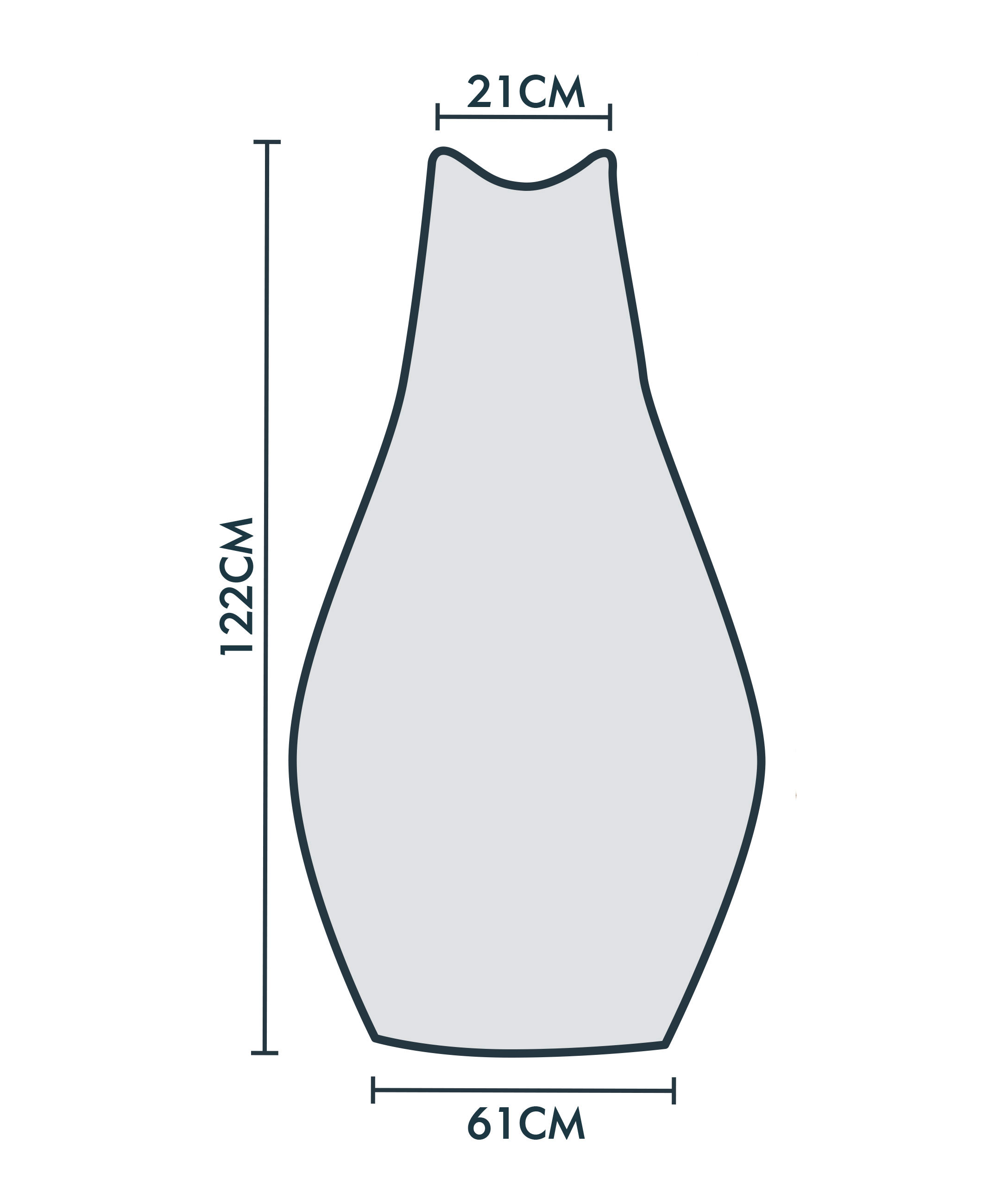 jarder chimenea cover dimensions