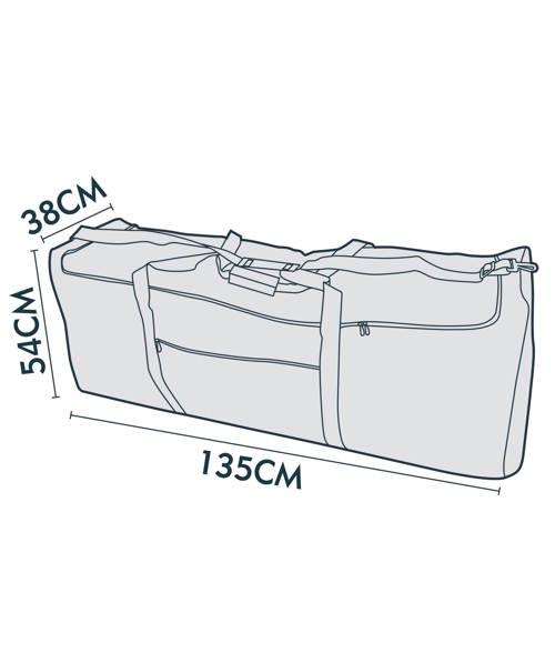 jarder medium christmas tree storage bag dimensions